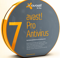 Avast! Pro Antivirus 7 free download
