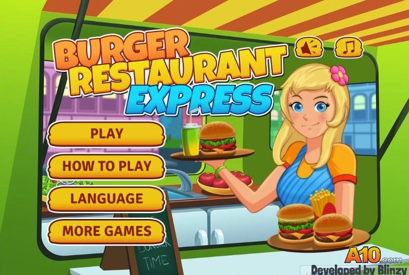 permainan memasak restoran burger permainan memasak di restoran