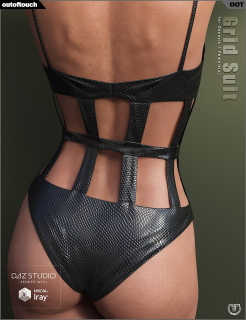 Grid Suit for Genesis 3 Female