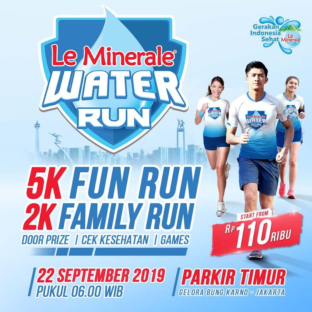 Le Minerale Water Run - Jakarta • 2019