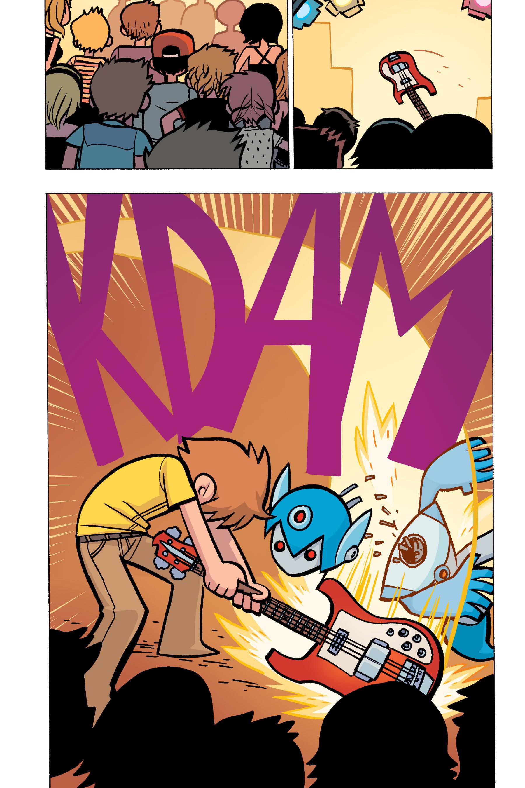 Read online Scott Pilgrim comic -  Issue #5 - 56