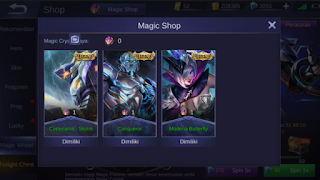 Hack Skin Mobile Legend ( ML ) 2019