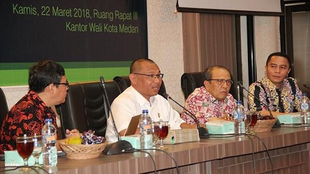 Wakil Wali Kota Medan Buka Sosialiasi Pengintegrasian Data dan Aplikasi Terkait E-Government