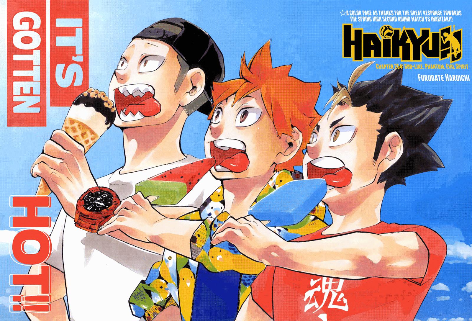 Haikyuu!! Chapter 254-1