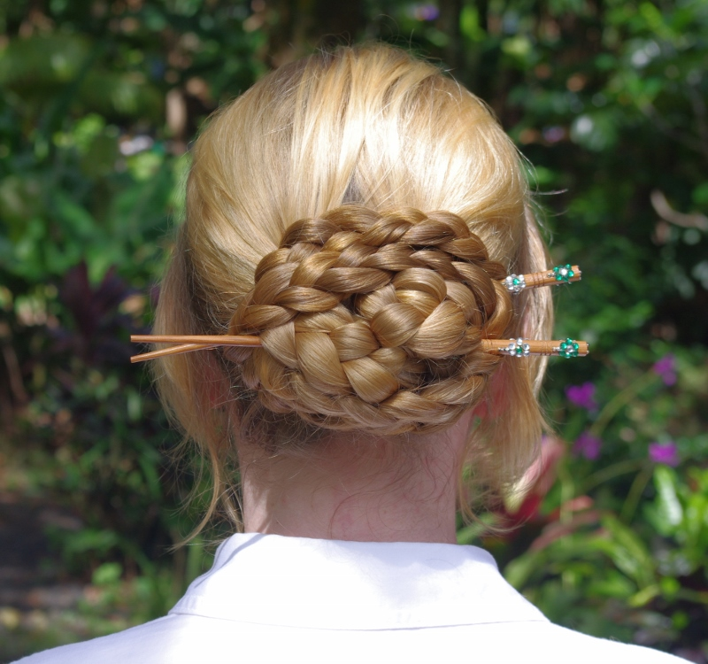 Braids & Hairstyles for Super Long Hair: Chinese Knot Bun