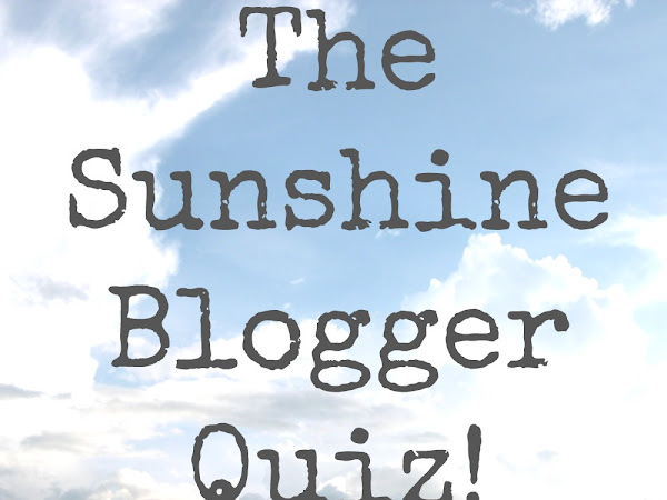 The Sunshine Blogger Quiz
