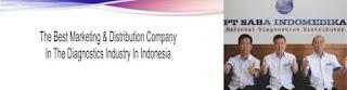 lowongan kerja administrasi PT Saba Indomedika