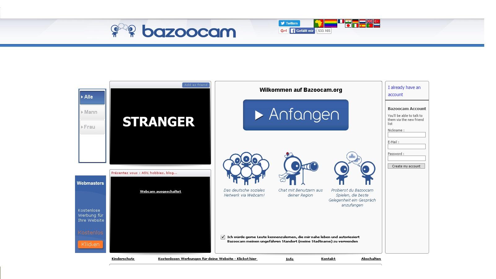 Bazoocam.org | Cam Chat Alternative auf Deutsch