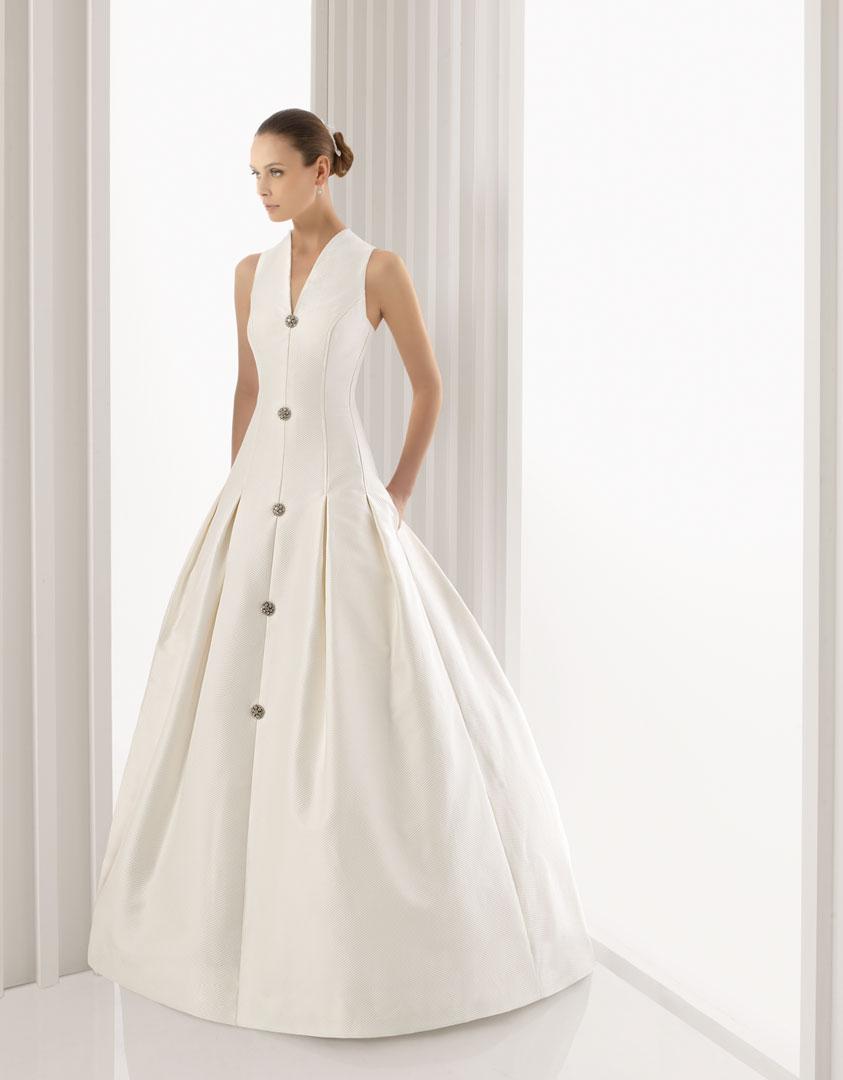 Vestidos de novia sin cancan