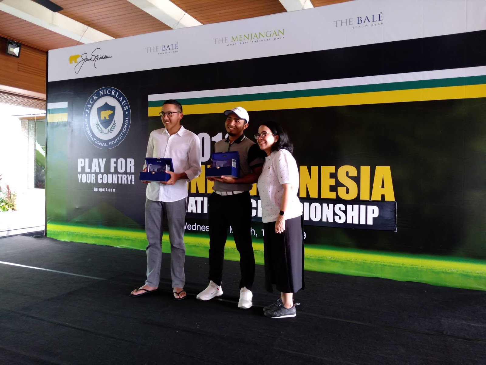 Winner JNII 2019, Delegasi JNII Golf Turnamen Ke AS 2019