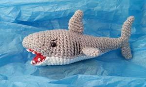 Shark Obsession and the Amigurumi Shark - | 180x300