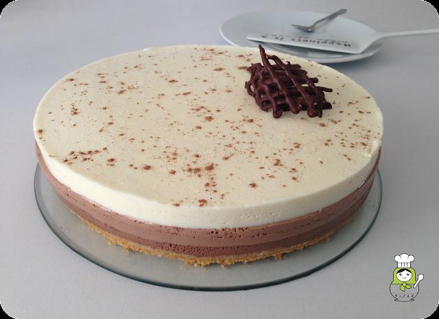 receta tarta tres chocolates