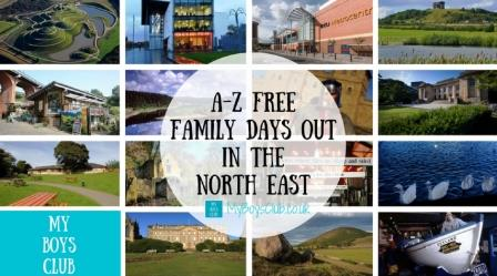 A-Z Free Family Days Out in the North East