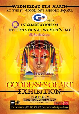 Akumaa Mama Zimbi, Ama K Abebrese, Nikki Samonas For International Women's Day Art Exhibition