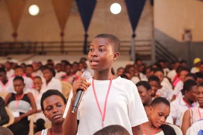 GES Lauds Vodafone's Annual Girls' Camp Initiative