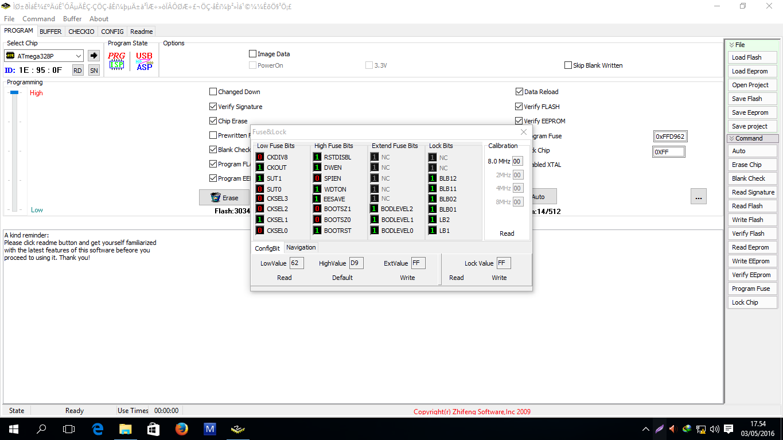 Cara Mengisi Firmware IC ATmega 328p