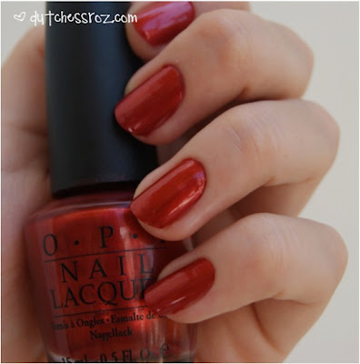 RedNails2 NOTD: Love is a Racket