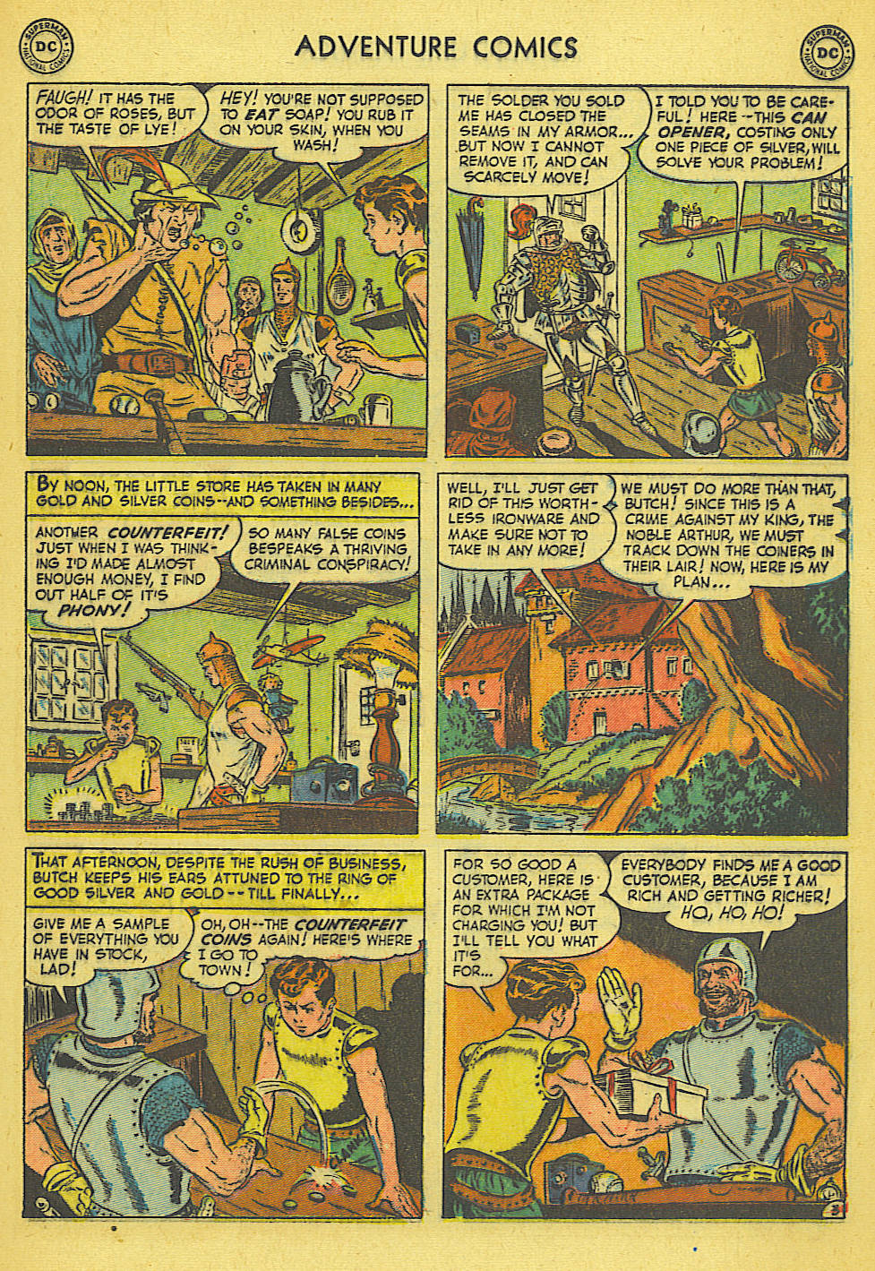 Read online Adventure Comics (1938) comic -  Issue #165 - 16