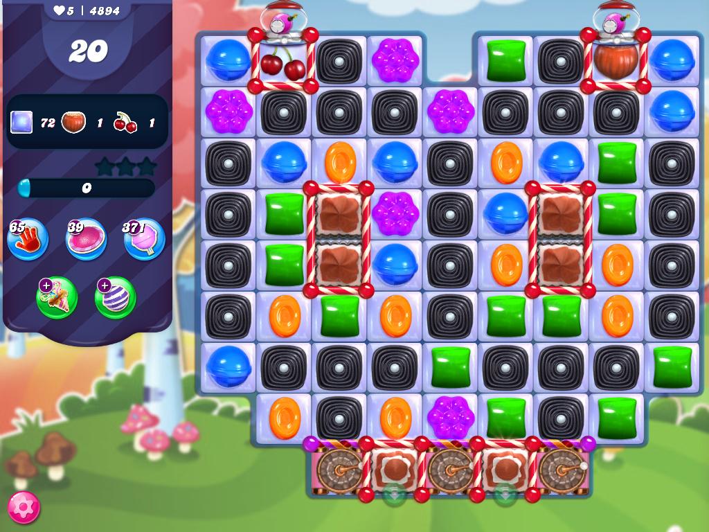 Candy Crush Saga level 4894