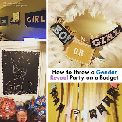 Gender Reveal Party on a Budget