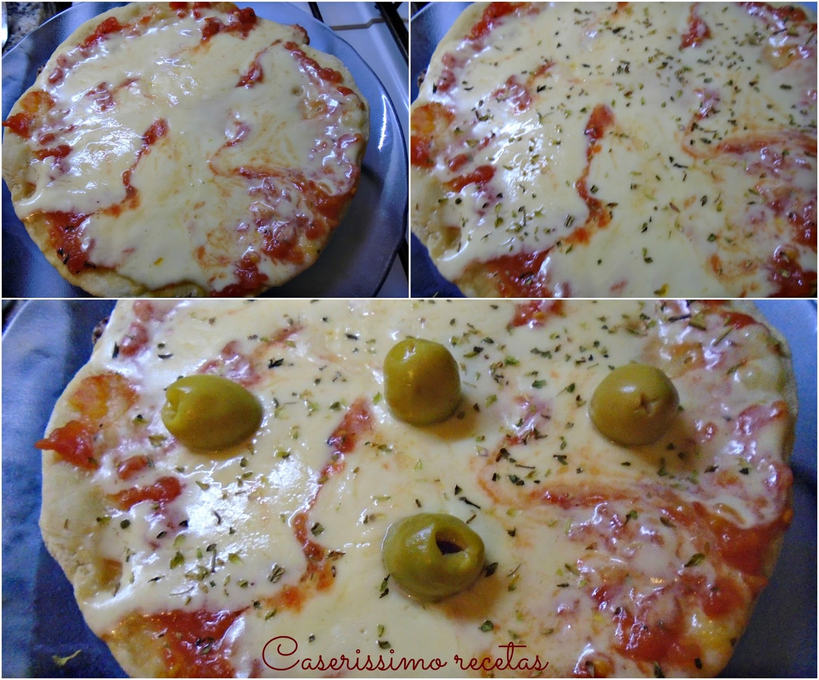 Pizza en sartén