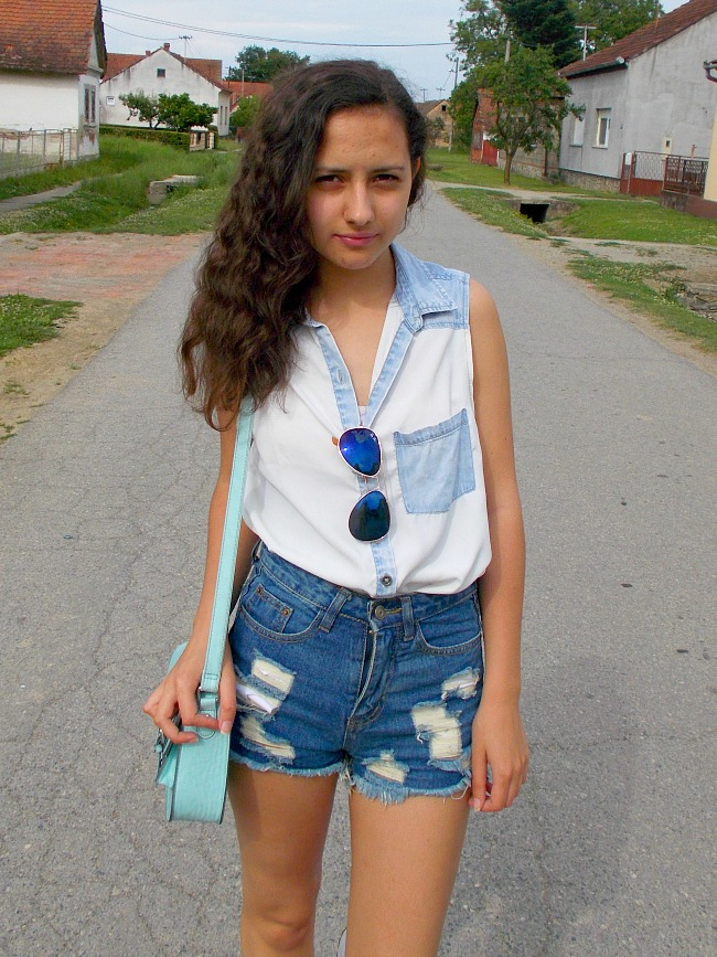 fashion with valentina,fashion with valentina blog,valentina batrac,fashion blogger valentina,teen fashion bloggers,croatian fashion bloggers,hrvatski fashion blogovi,summer 2015 outfits,summer outfit ideas,outfits with high waisted shorts
