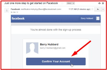 facebook sign up homepage download