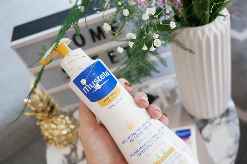 Mustela cold cream żel do mycia ciała dermokosmetyki dla dzieci