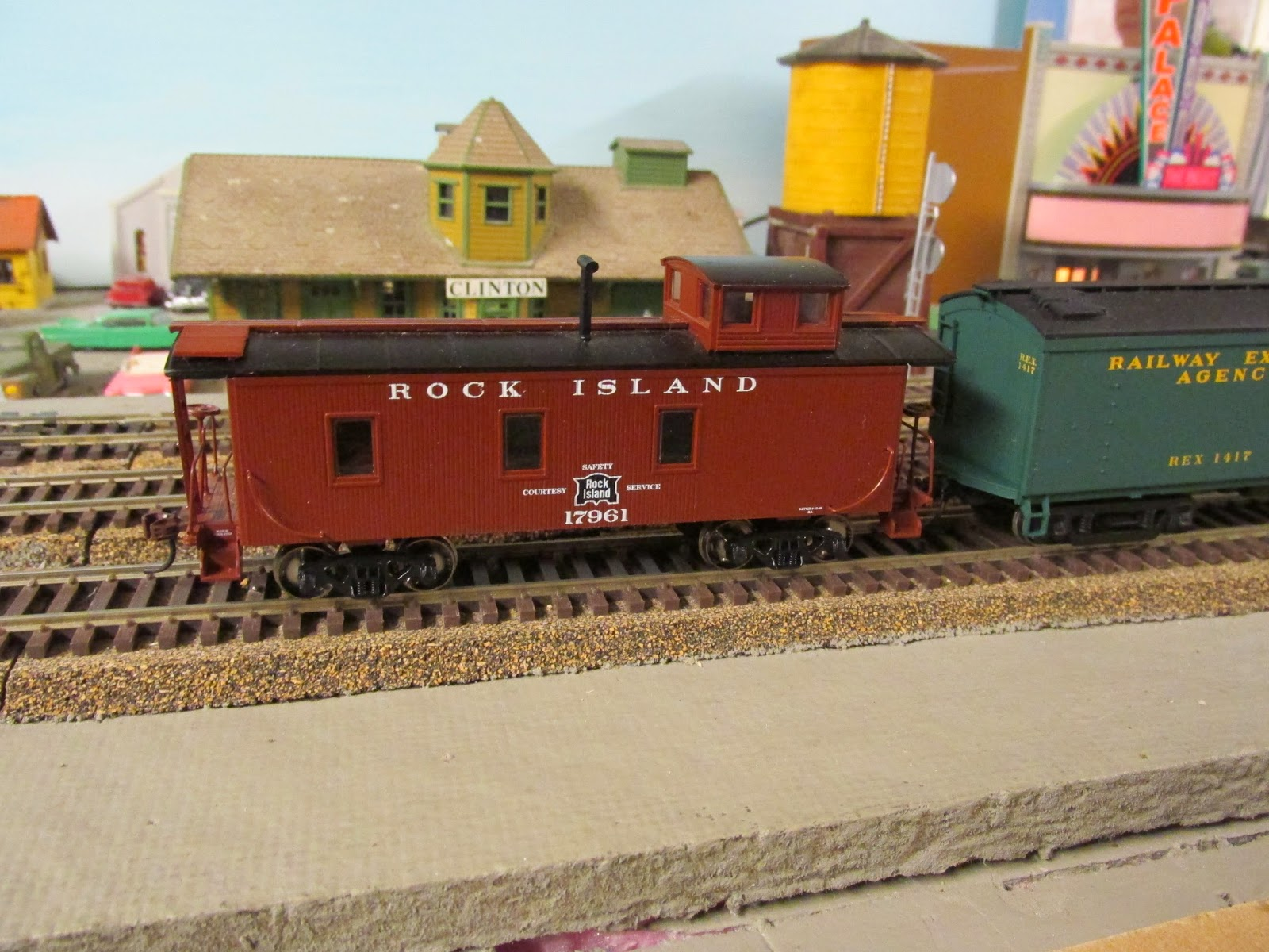 Eddie's Rail Fan Page: A wooden steam era caboose from the