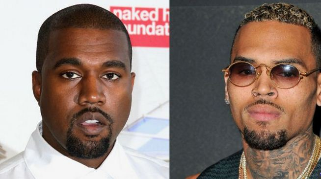 chris brown calls kanye west clown
