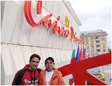 Rajesh and Rakesh in Ramada Hotel for WSC 2015