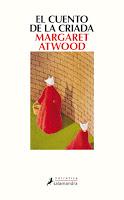 Portada de El cuento de la criada de Margaret Atwood
