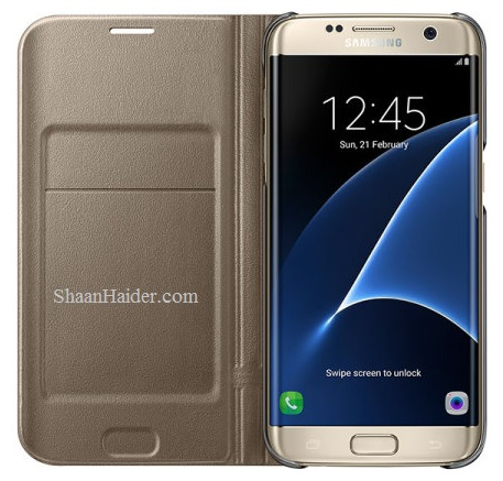 Samsung Galaxy S7 Edge LED View Cover : Hands-on Review and Features