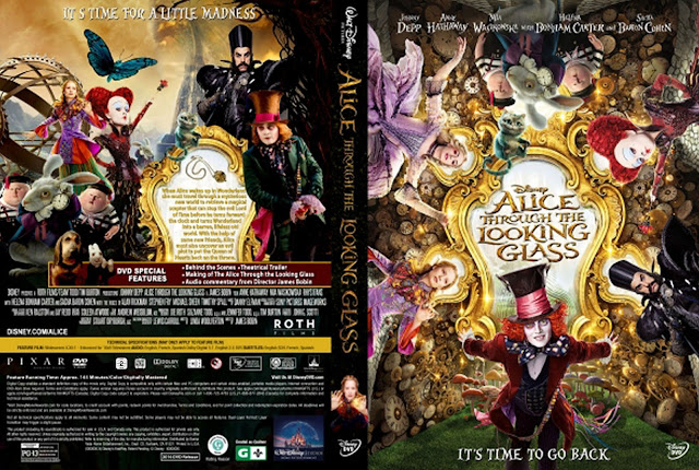 Alice Through the Looking Glass DVD Cover