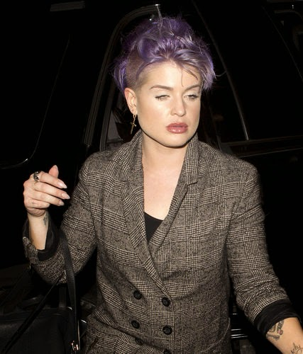 Yikes! Kelly Osbourne risked a thick lip