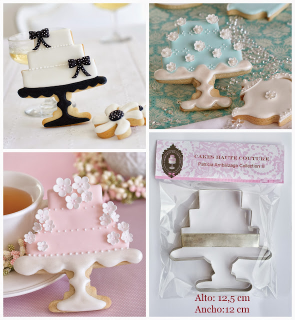 Cake stand cookie cutter by Patricia Arribálzaga