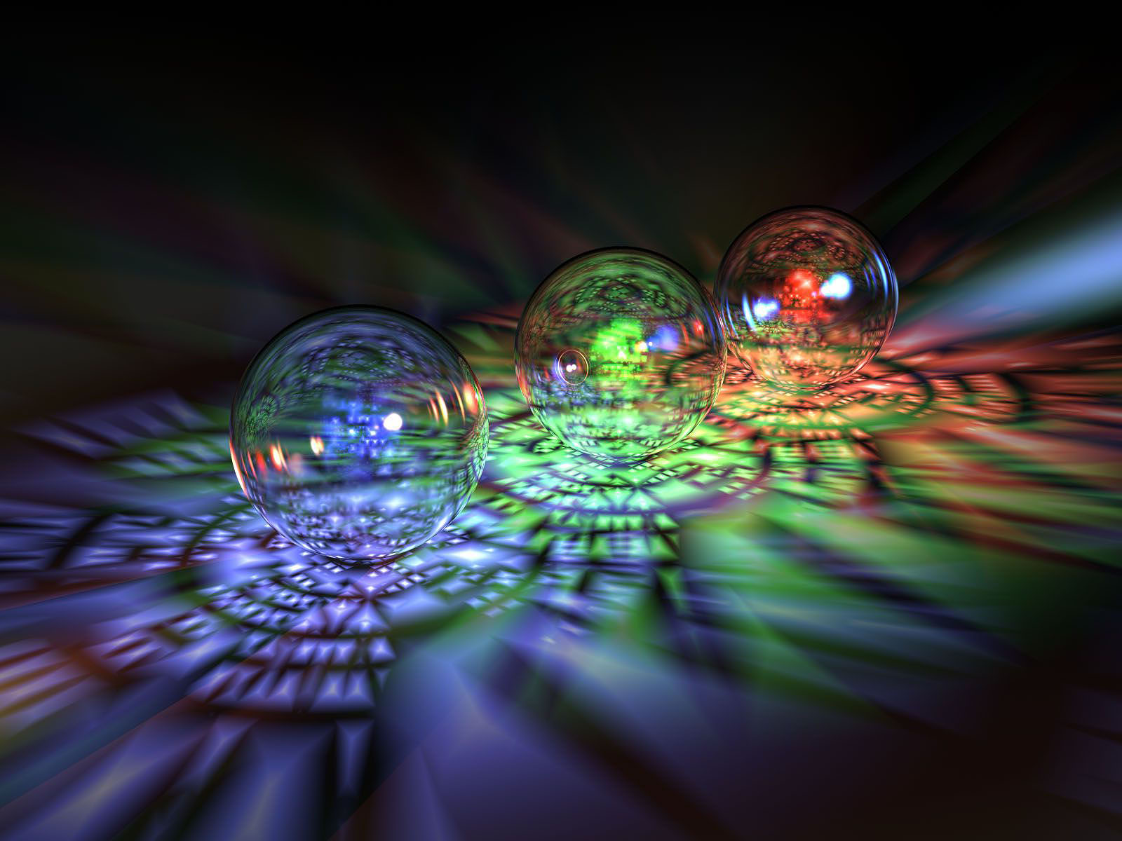 HD Background: 3D Glass Wallpapers