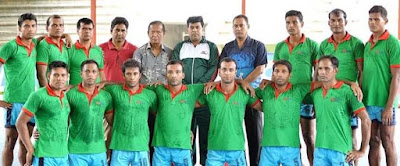 Bangladesh Team in Kabaddi World Cup 2016 Bangladesh Team