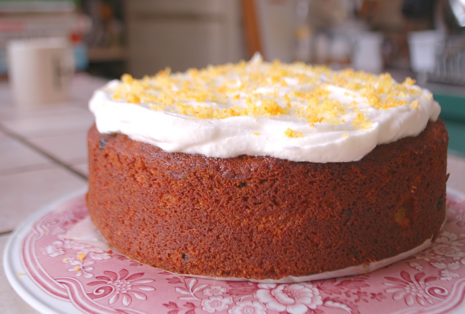 Carrot Cake Recipe Uk No Nuts: The Spice Garden: Frosted Carrot And Parsnip Cake