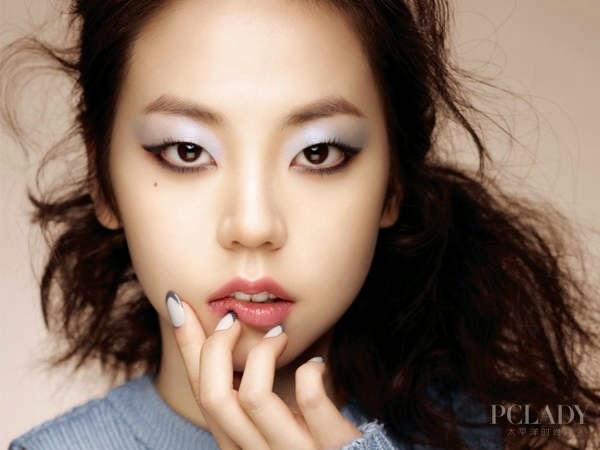 Wonder Girls Member Eye Makeup by Spewing Single Eyelids Myrrh