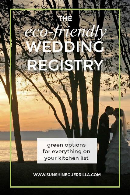 eco-friendly wedding registry couple in golden gardens park