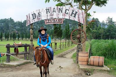 Wisata Ala Cowboy De'ranch Lembang