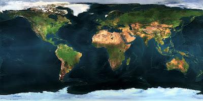 akan mencoba mengambil pelajaran dari ketenaran flat eart atau bumi datar Cara Membuat Peta Bumi Datar ( Flat Earth ) Dengan Photoshop