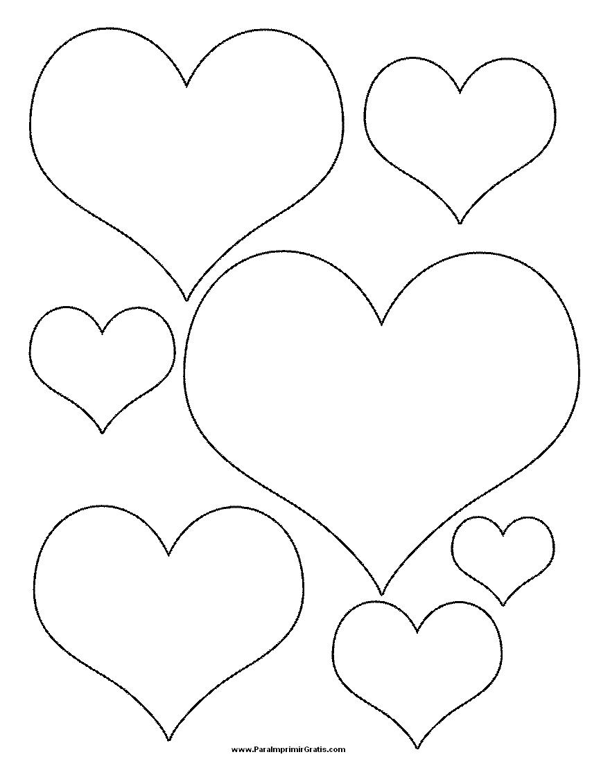 Cómo hacer una corona de corazones
