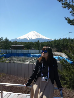 Best spot to pose with Fujisan in Japan