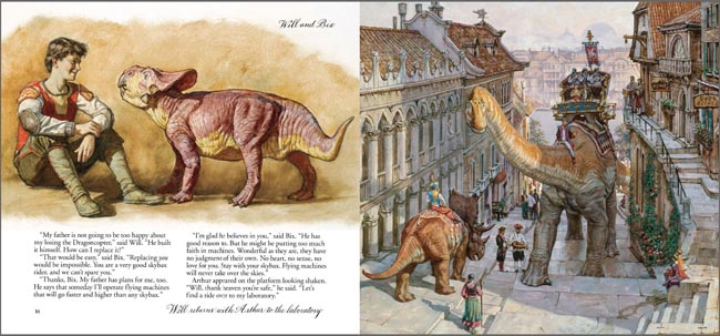 dinotopia coloring pages - photo#25