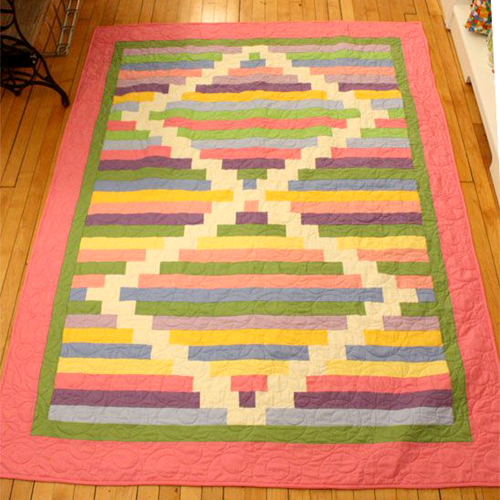 Grandma's Dominoes Quilt - Tutorial