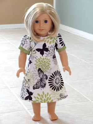 free american girl dress pattern