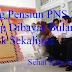 Uang Pensiun PNS 2017 Tetap Dibayar Bulanan Tidak Sekaligus