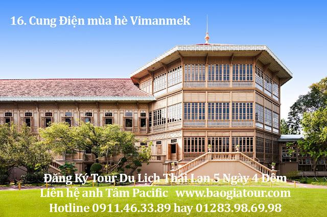 16. Cung Điện mùa hè Vimanmek